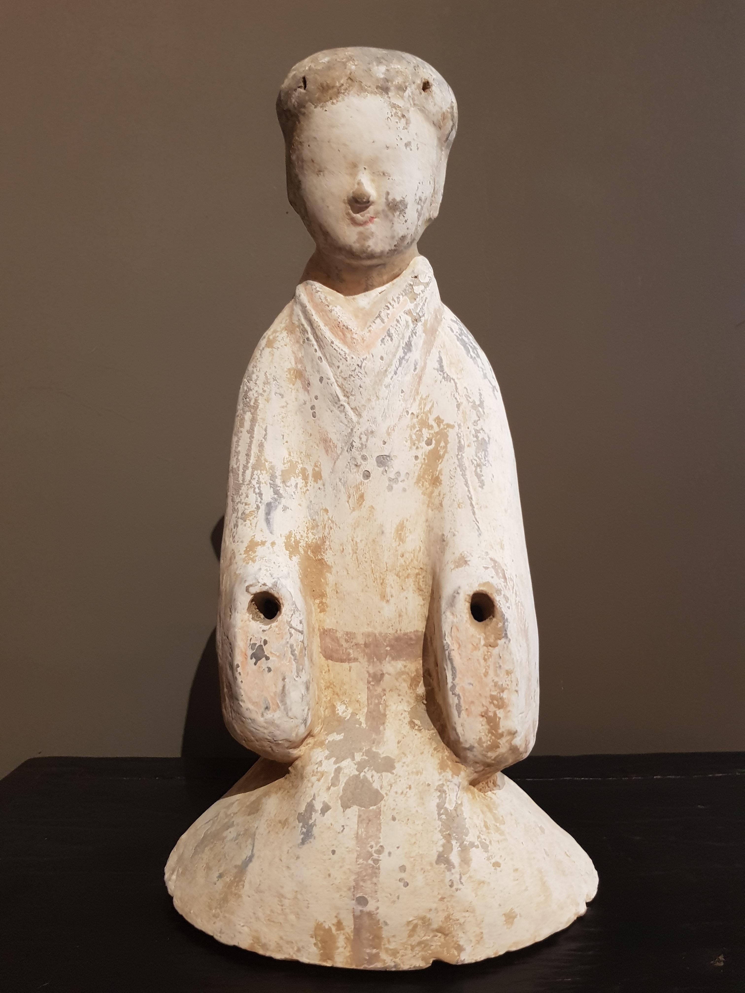 Dame de Cour - Dynastie Han (206 BC - 220) - TL Image
