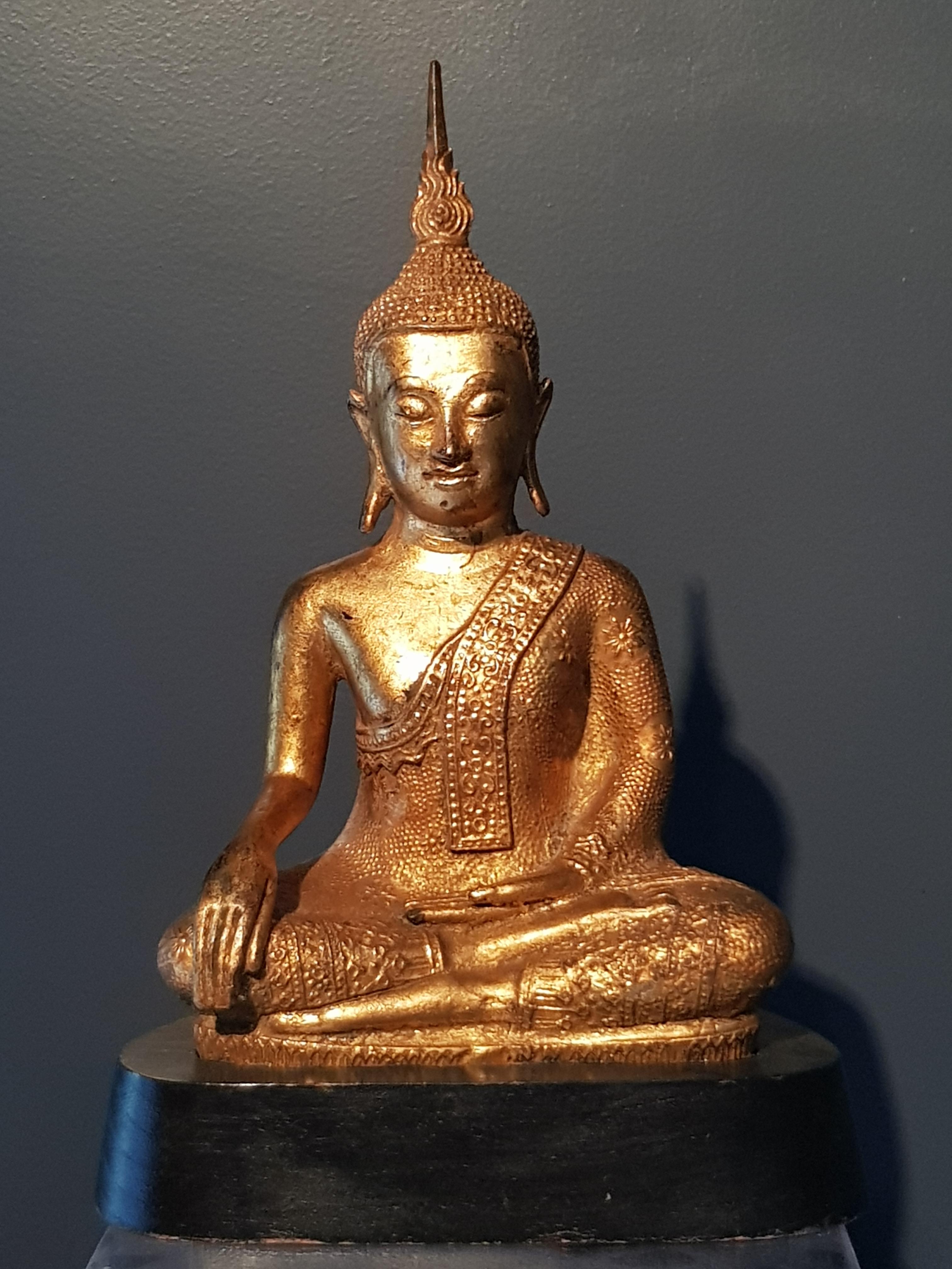 Bouddha Shakyamuni - Thaïlande - 20ème.- VENDU Image