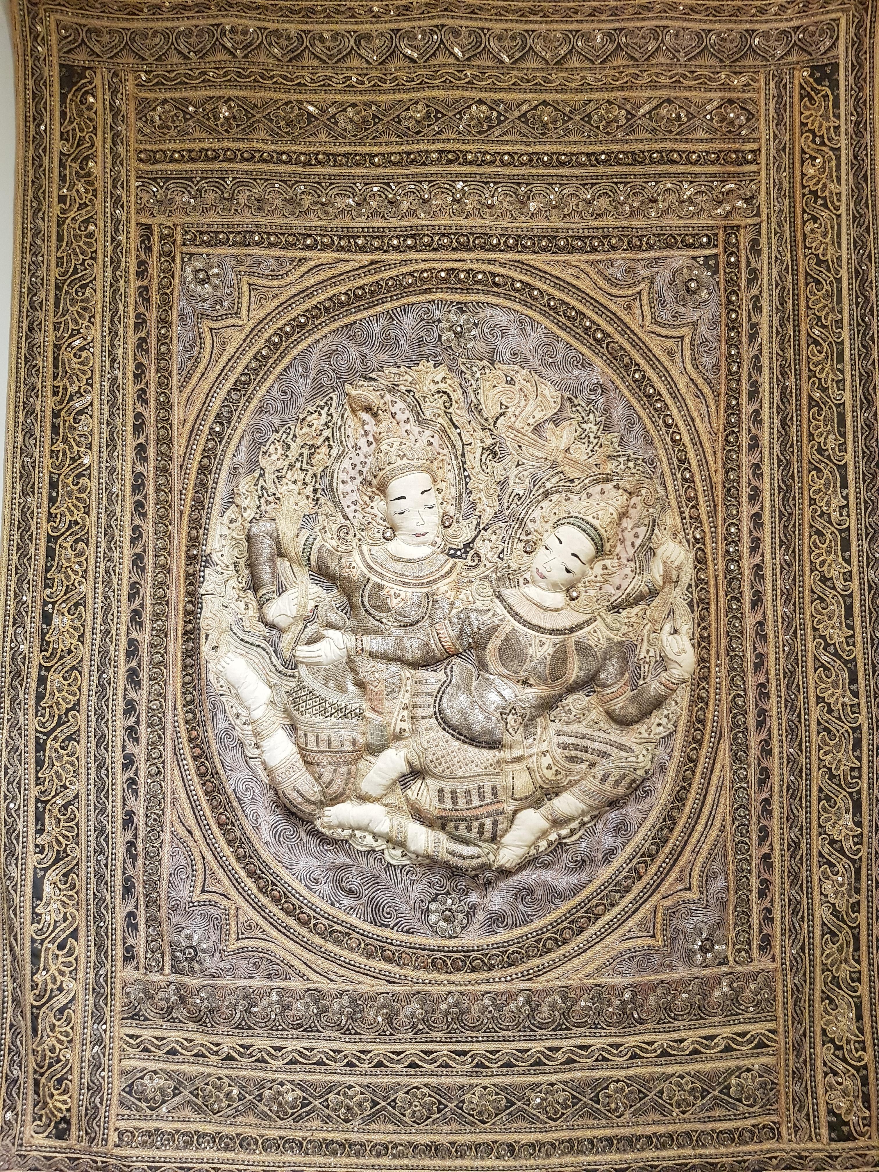 Tapisserie Shwe chi doe XIXème - VENDU Image
