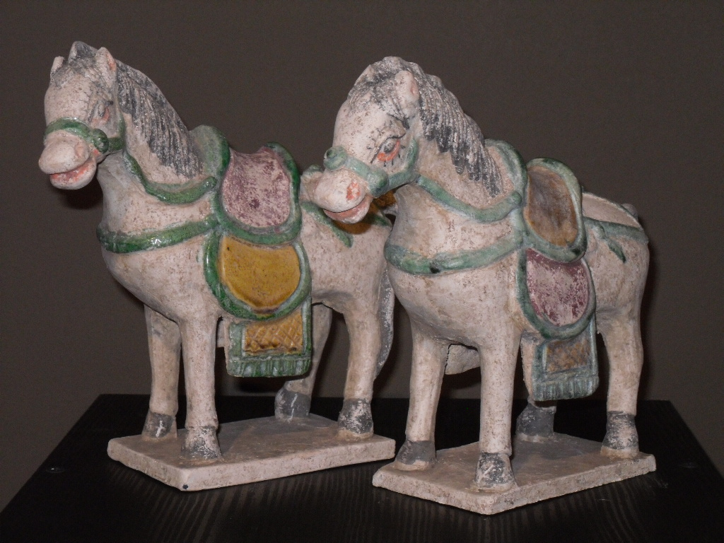 Paire de chevaux - Dynastie Ming - Vendu Image