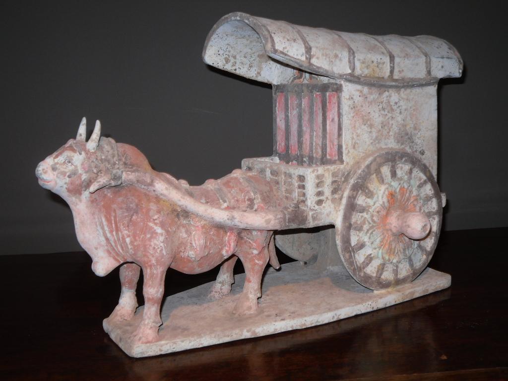 Chariot et son bœuf - Dynastie Wei - Vendu Image