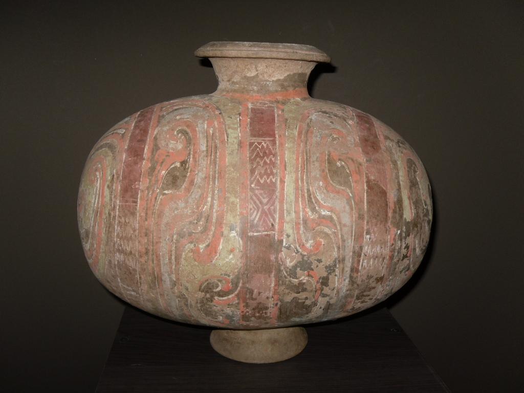 Vase cocoon - Dynastie Han - Vendu Image
