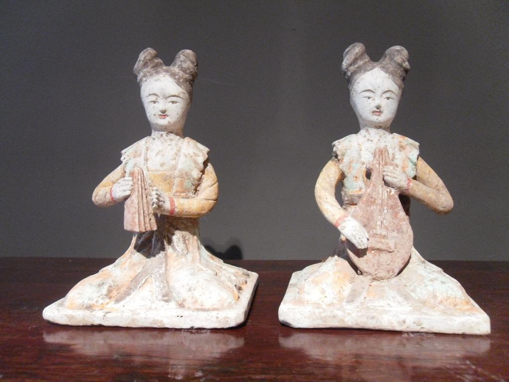 Paire de musiciennes - Dynastie Tang - Vendu Image