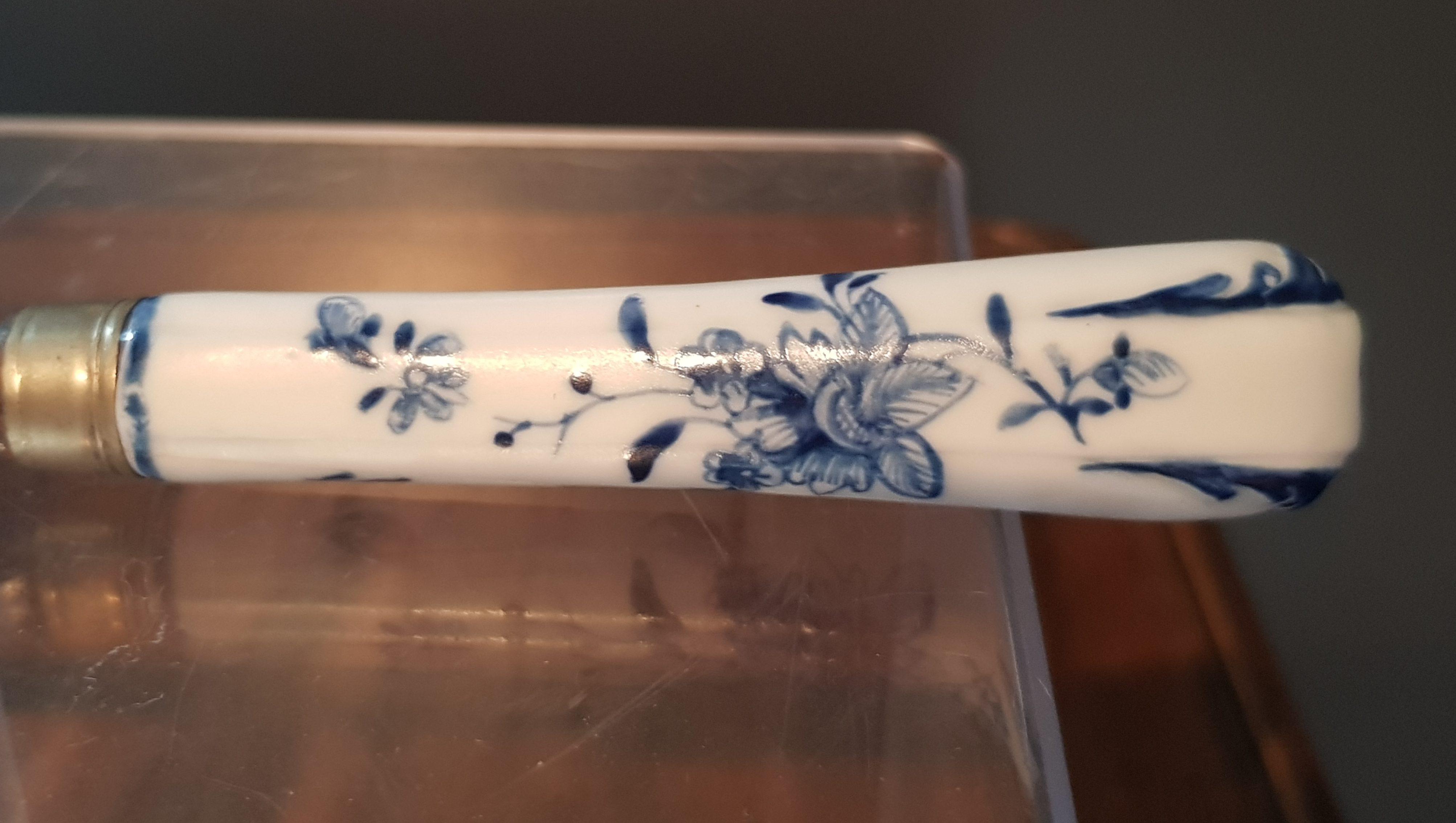 Couteau Pré-Ronda en Porcelaine de Tournai Image
