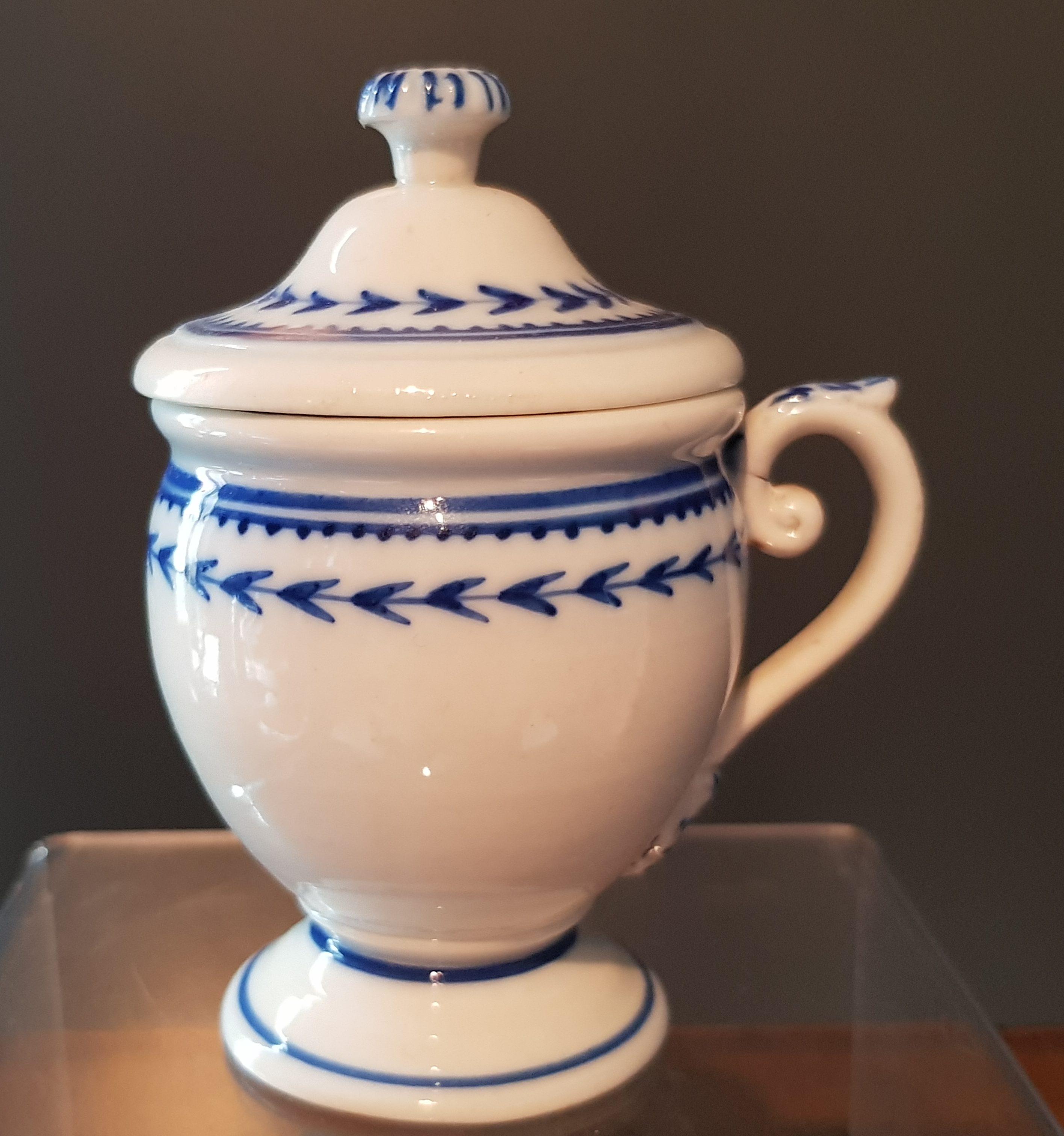 Crémier Empire en Porcelaine de Tournai à l'Épi Image