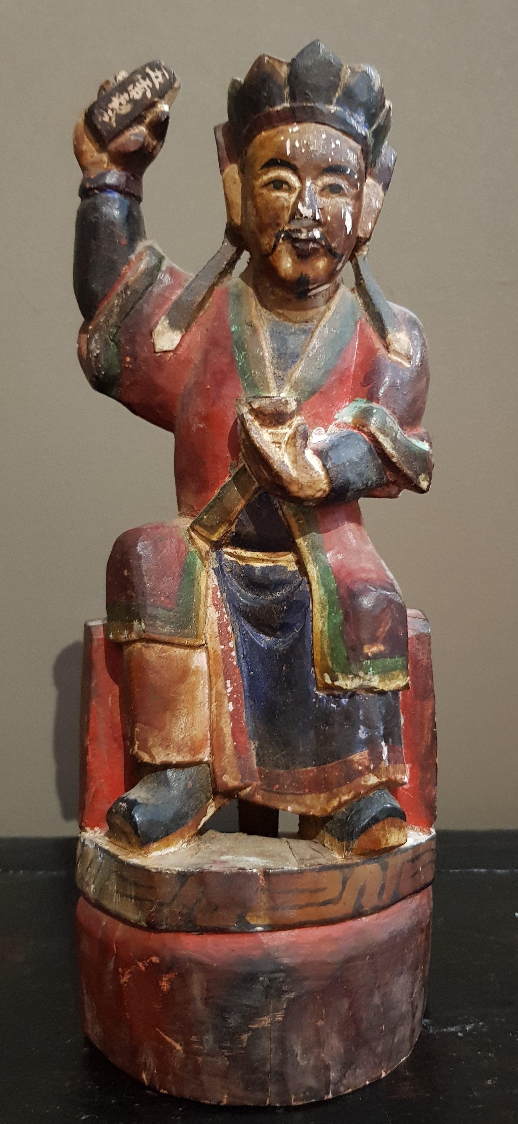 Statuette Taoïste - Vendu Image