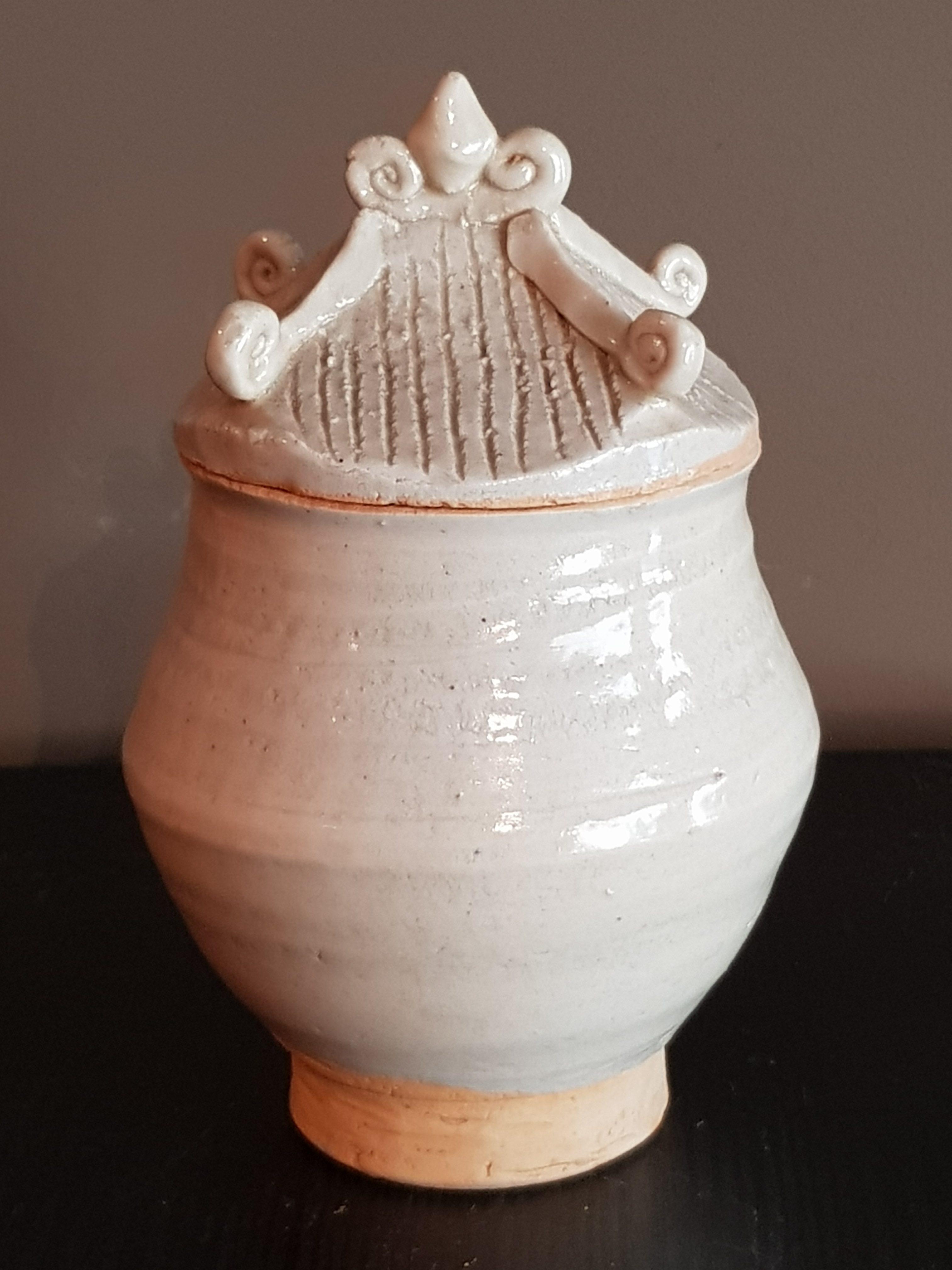 Urne couverte Céladon - Dynastie Song - VENDU Image