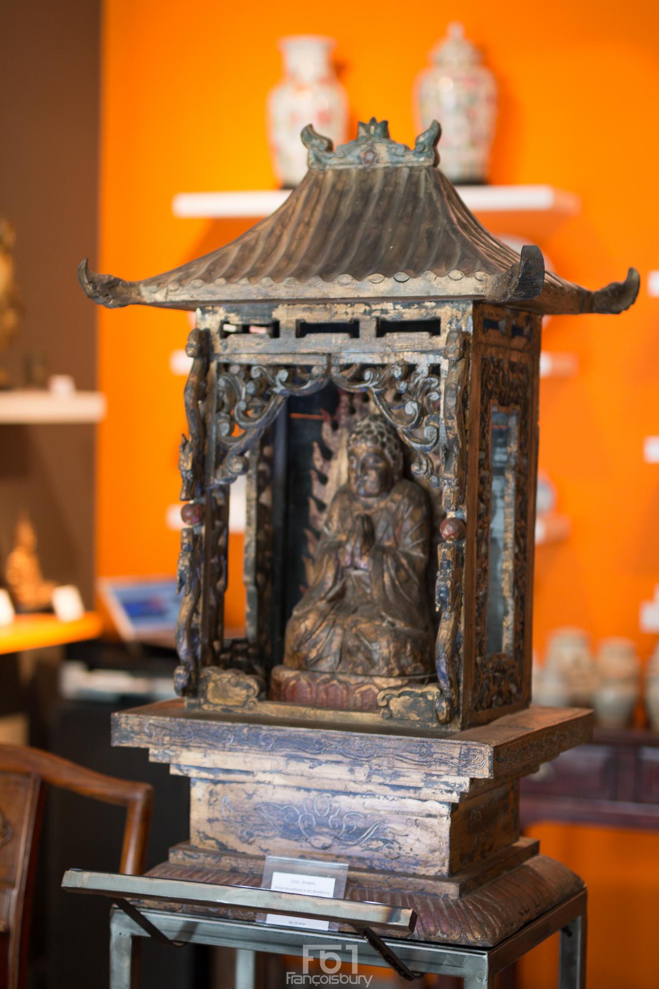 Temple Bouddhique - Chine - Dynastie Qing - 19ème Image