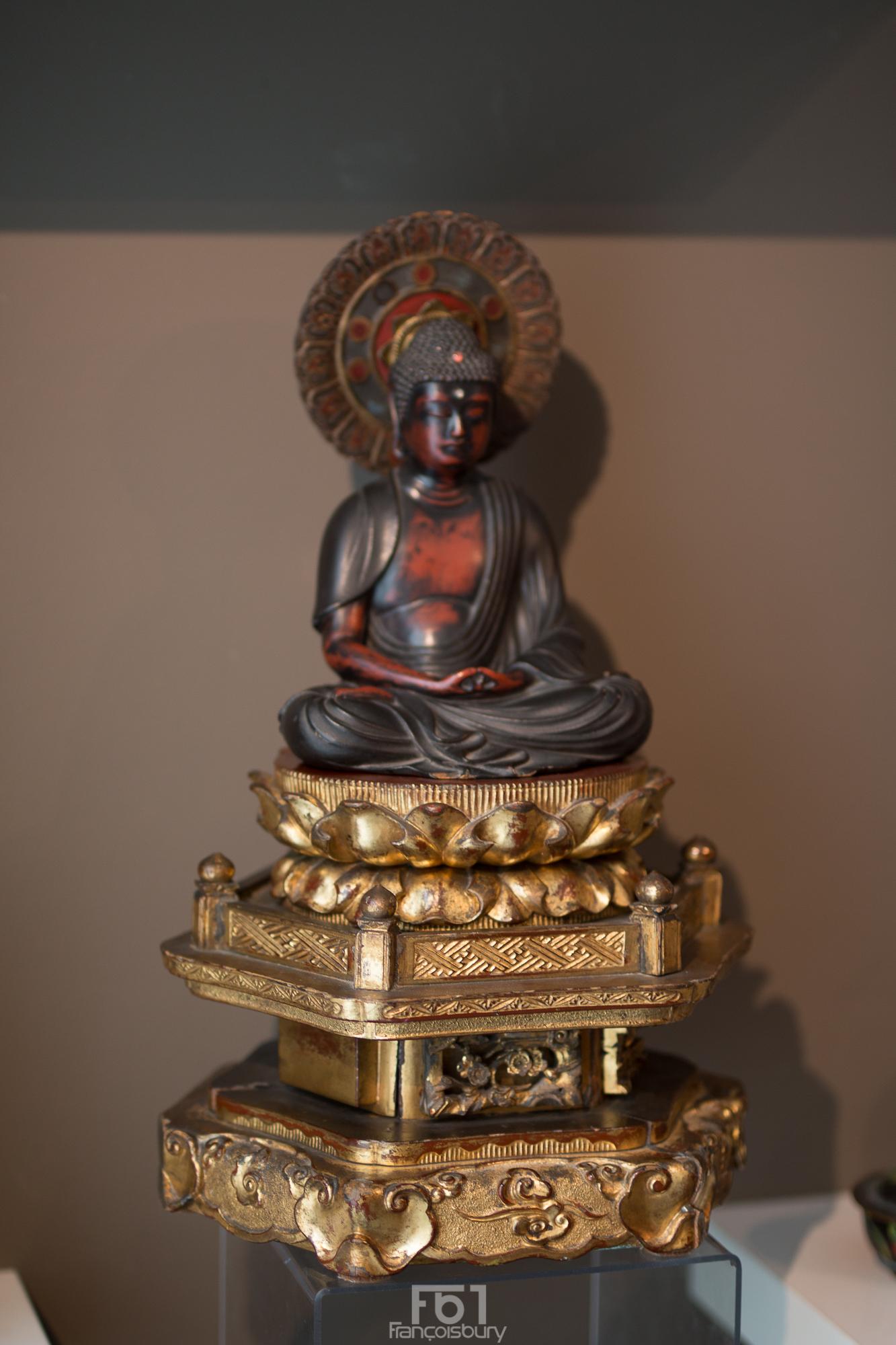 Bouddha Amida Nyorai - Ere Meiji - VENDU Image