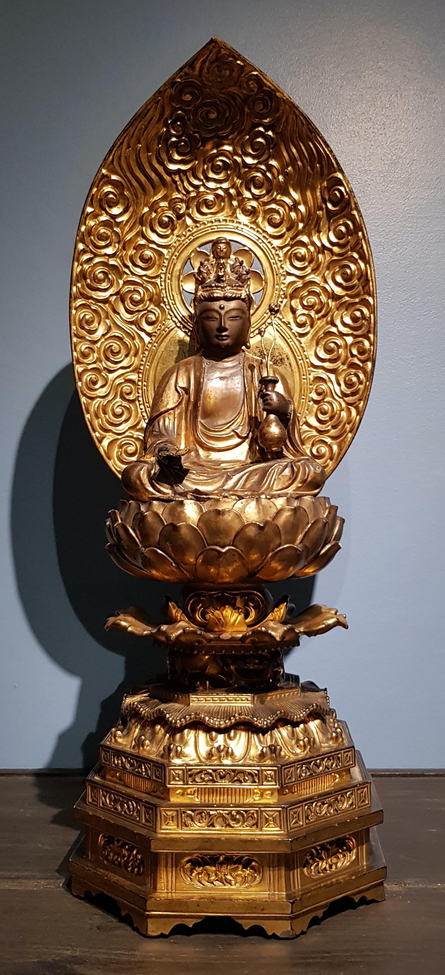 Japon - Jûichimen-Kannon - Ère Meiji - Fin 19ème. Image