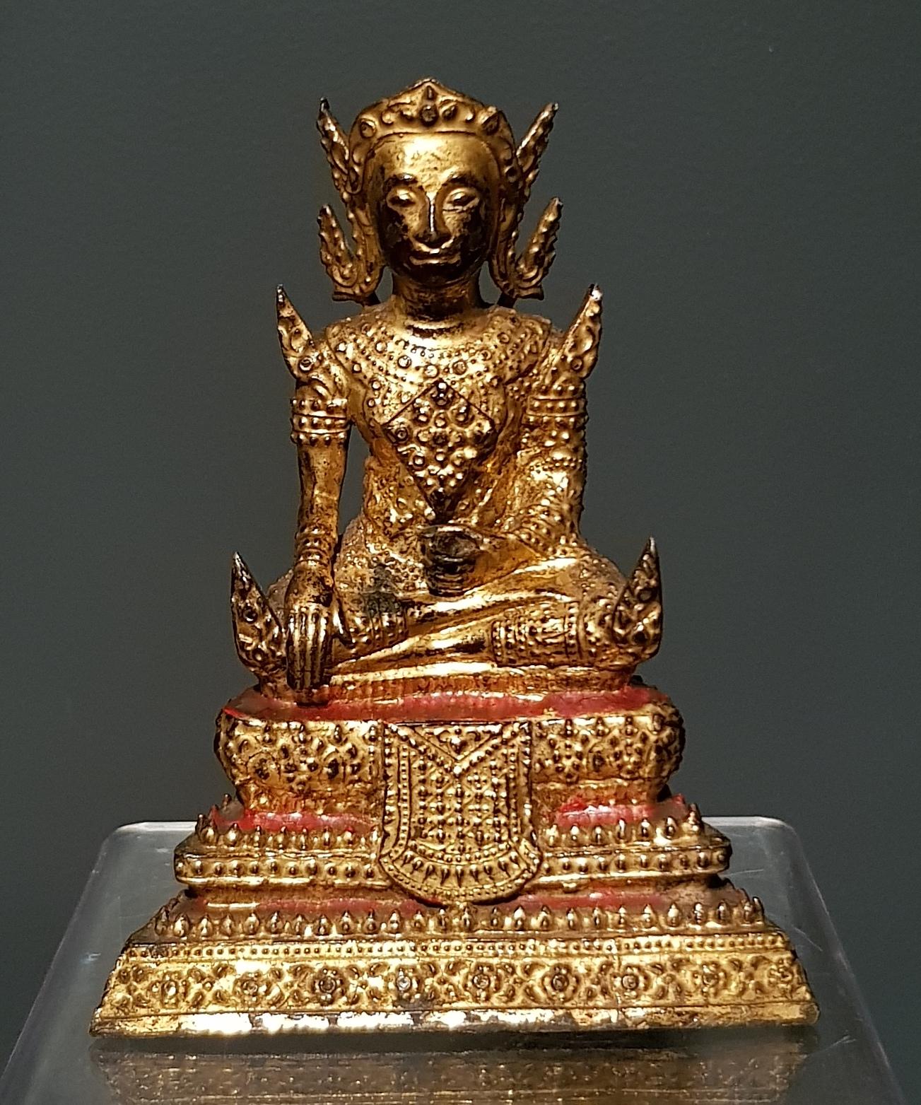 Thaïlande - Bouddha Maitreya - Rattanakosin - Fin 19ème. Image