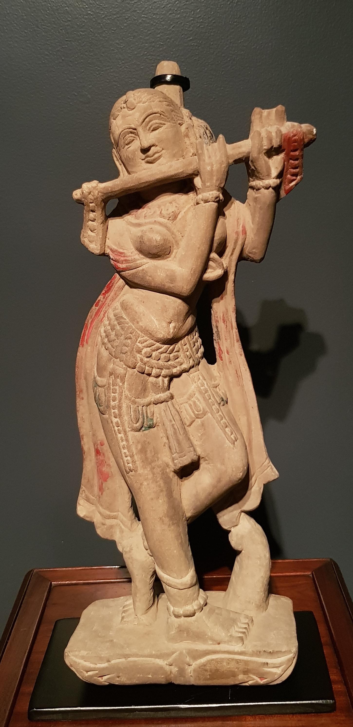 Inde - Devangana en pierre - Madhya Pradesh - 17ème. Image